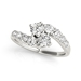 Better Together 14k white gold Diamond Engagement Ring - 01A57-1070