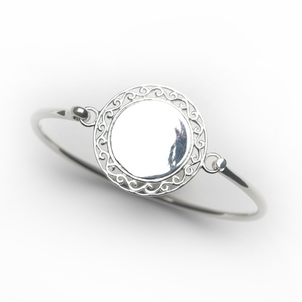 Southern Gates Engravable Flip Top Bangle